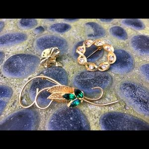 Vintage Brooch Pin Bundle
